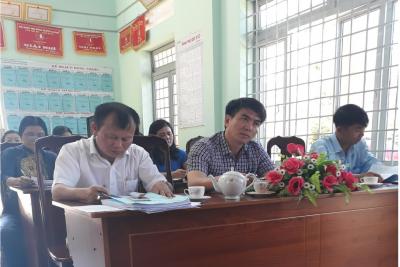 Đại Hội Chi Bộ Trường Nguyễn Thị Minh Khai